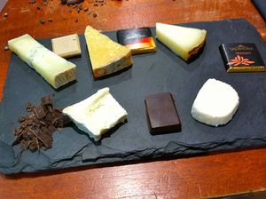 800px-Cheeses chocolate samples daan uttien 072015.jpg