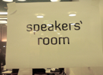Speakers Room
