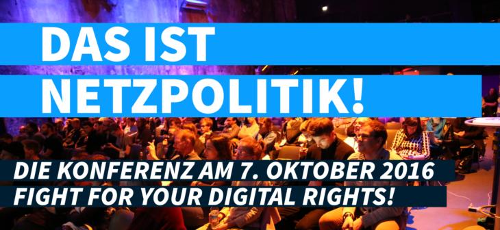 Netzpolitik-Konferenz