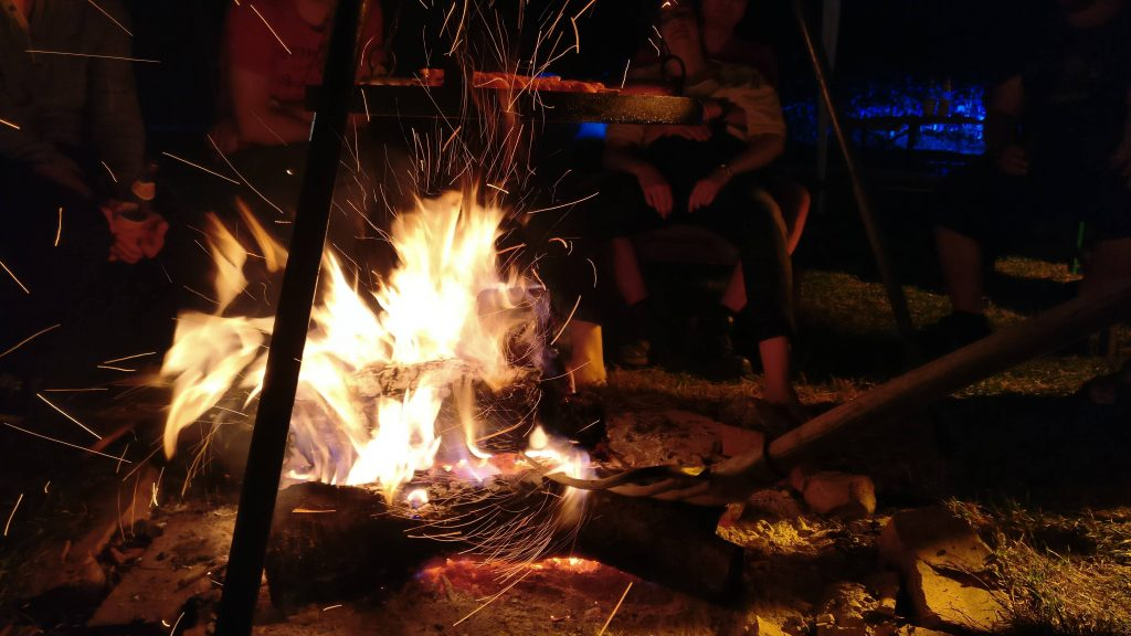 Freifunk Camp 2018 Lagerfeuer